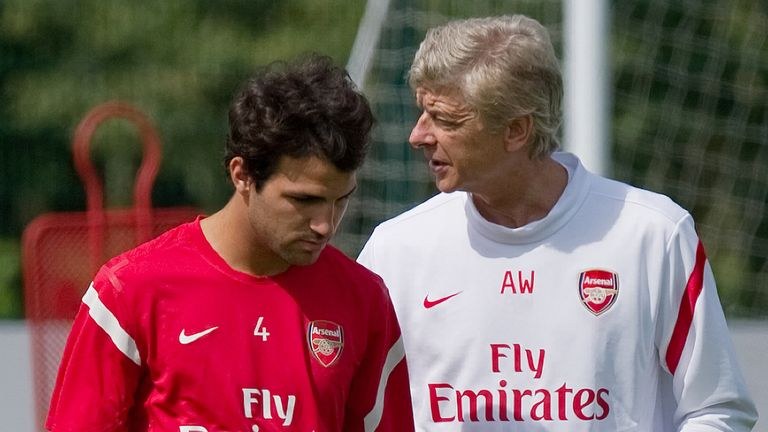 Wenger did not bid for Cesc Fabregas in the summer