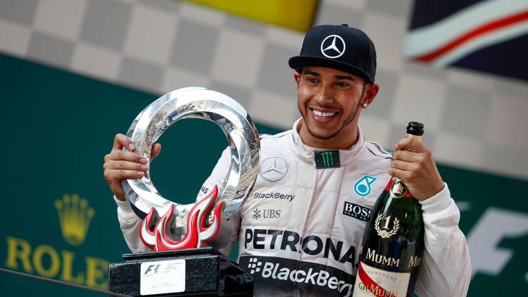 Hamilton has wins in Australia, China and Bahrain already in 2015