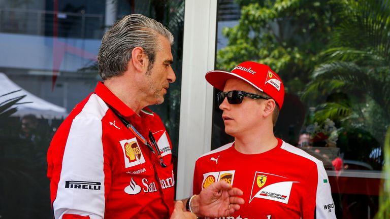 Maurizio Arrivabene won't think about Kimi Raikkonen over the summer break