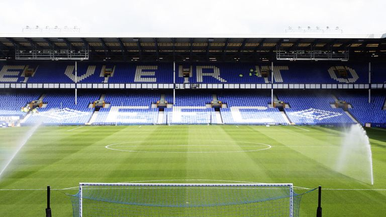 Goodison Park: Home of Everton Football Club