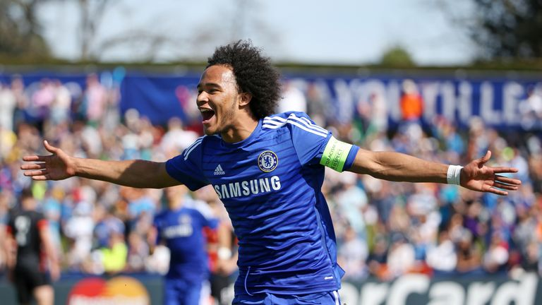 Isaiah 'Izzy' Brown is one of four Chelsea youngsters on loan at Vitesse