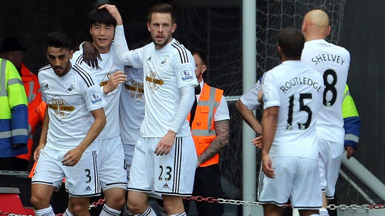 Ki Sung-Yueng: Gave Swansea the lead against Hull