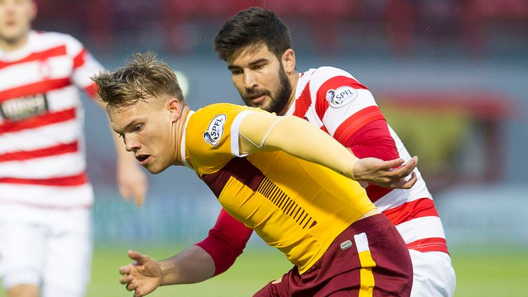Lee Erwin: Joined Leeds from Motherwell in the summer
