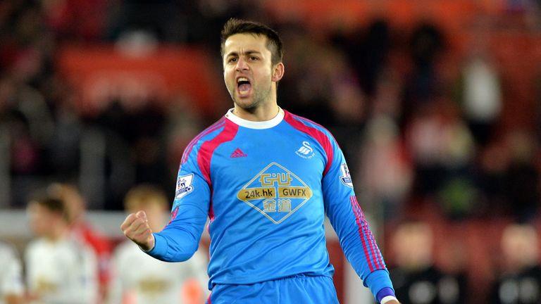 Swansea goalkeeper Lukasz Fabianski is in the race for the Golden Glove.
