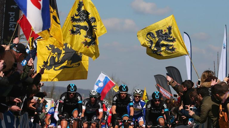 The Tour of Flanders is one of the cobbled Classics