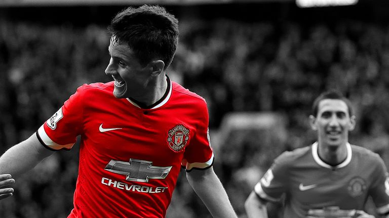 Ander Herrera has become a key figure after a slow start at Old Trafford