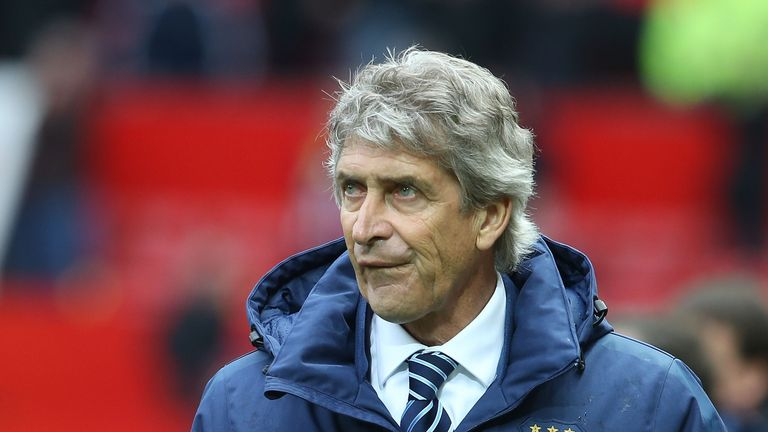 Manuel Pellegrini, Manchester United v Man City, Premier League