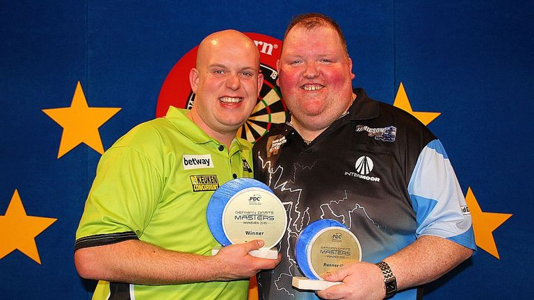 Michael van Gerwen beat John Henderson to win the German Darts Masters