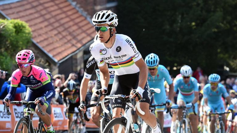 Kwiatkowski is one of the brightest young talents in cycling
