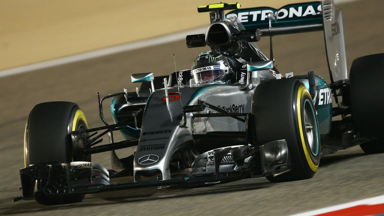 Nico Rosberg: Fastest on a Friday for the second time in 2015