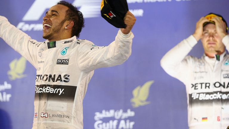 Lewis Hamilton: On top of the F1 world at the moment