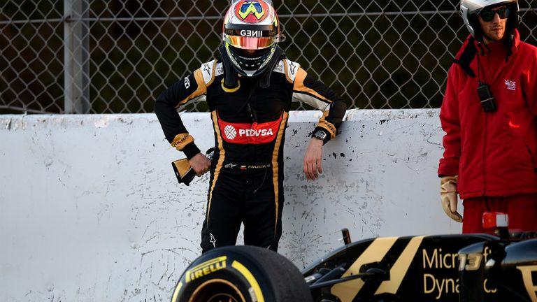 Maldonado has three DNFs and a 15th place to show for his season so far