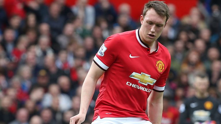 Phil Jones one of several players used at right-back by Louis van Gaal