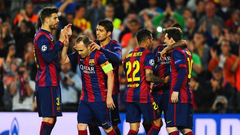 Barcelona's 2-1 win in El Clasico in March could be telling