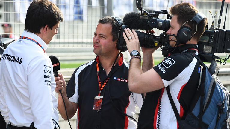 Wolff was coy on the prospect of supplying Red Bull