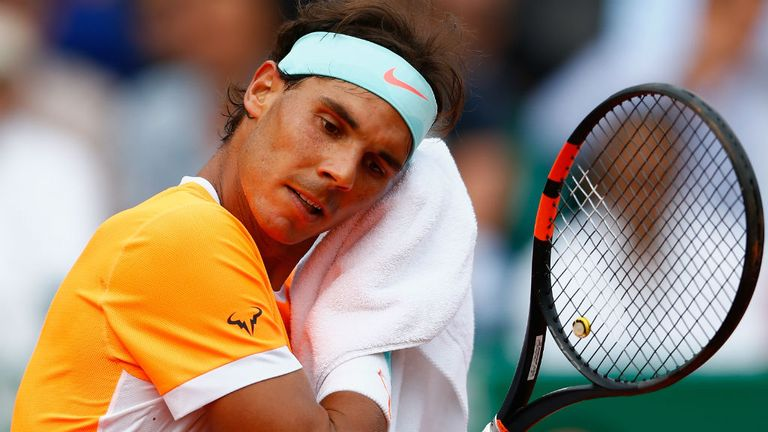 Nadal was beaten by Djokovic in the semi-finals of the Monte Carlo Masters