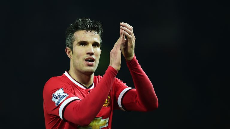Robin van Persie: Will be desperate to help United  secure their Champions League spot