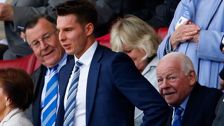 Chairman David Sharpe is leaving the club as part of the takeover