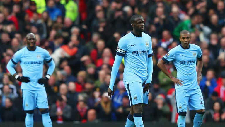 Yaya Toure and Manchester City failed to impress