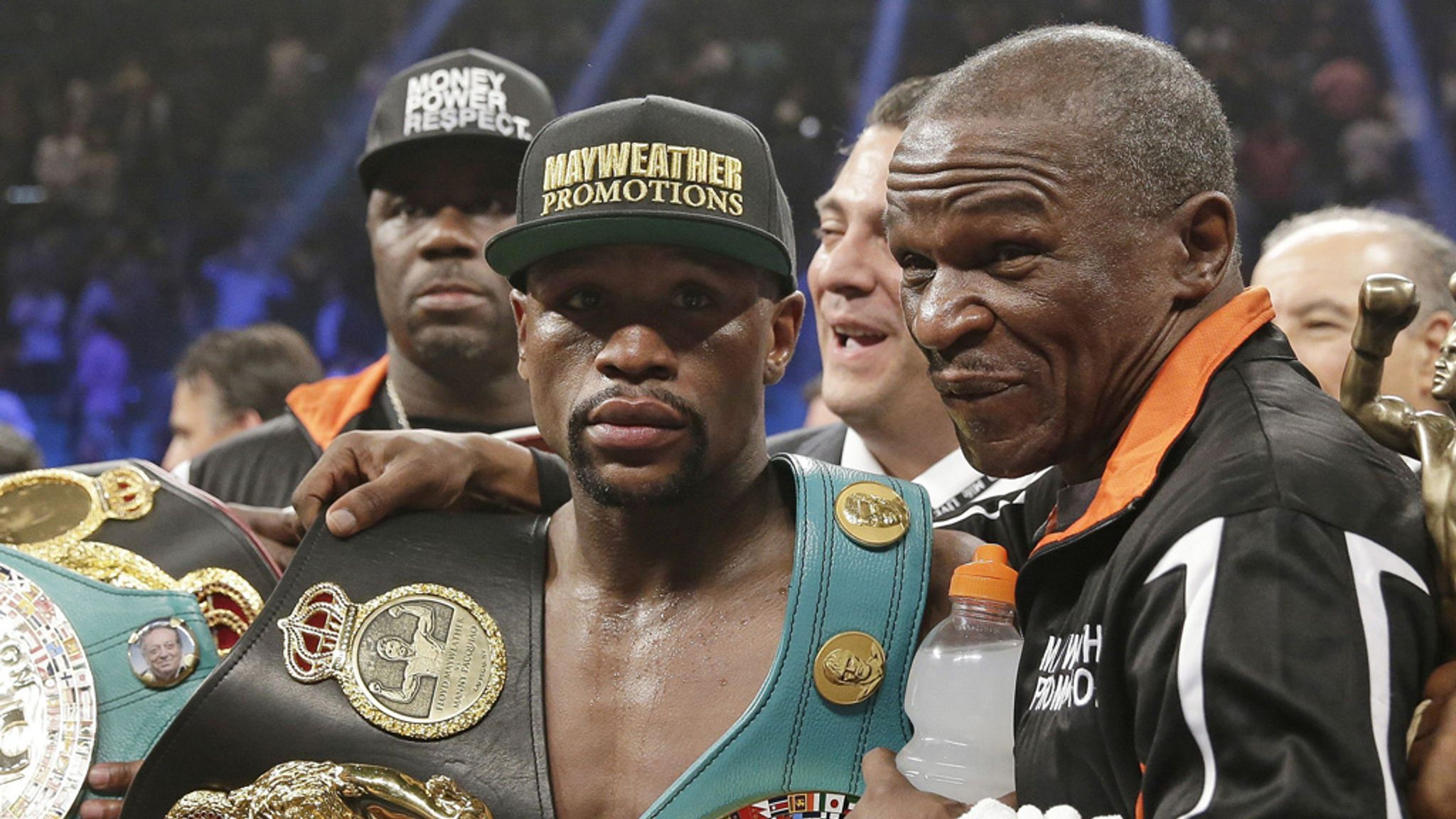 Floyd Mayweather Sr doubts his son will retire after fighting Andre Berto    Boxing News
