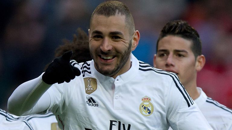 Real Madrid striker Karim Benzema would help deliver title to the Emirates, according to Thierry Henry