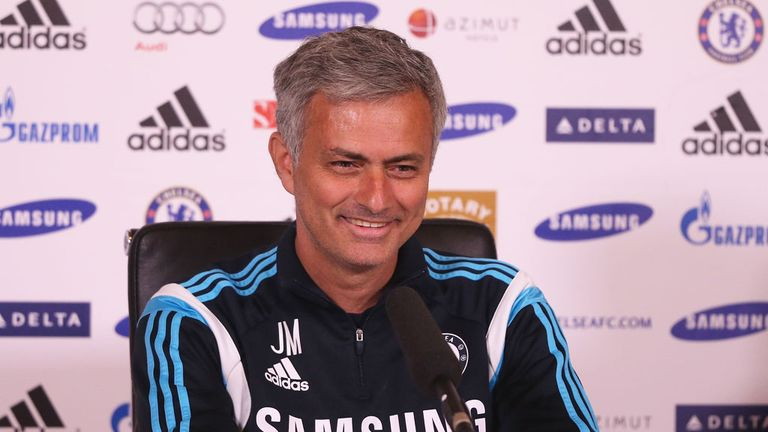Jose Mourinho: The Chelsea manager praised his players focus this season.