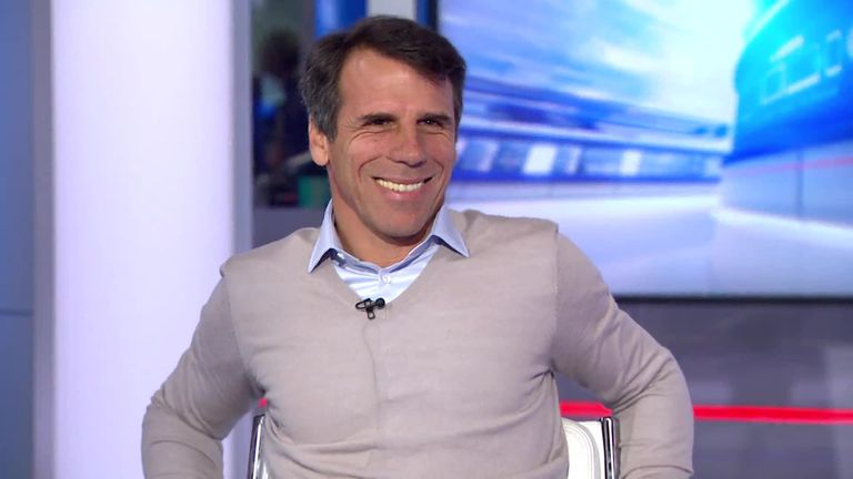 Gianfranco Zola would like to manage Chelsea