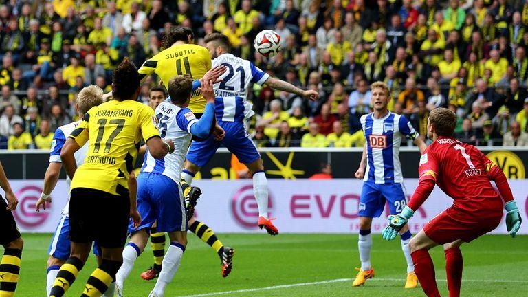 Neven Subotic scores for Dortmund