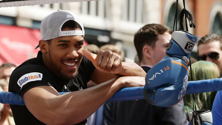 Anthony Joshua is backing Team GB for more glory in Rio