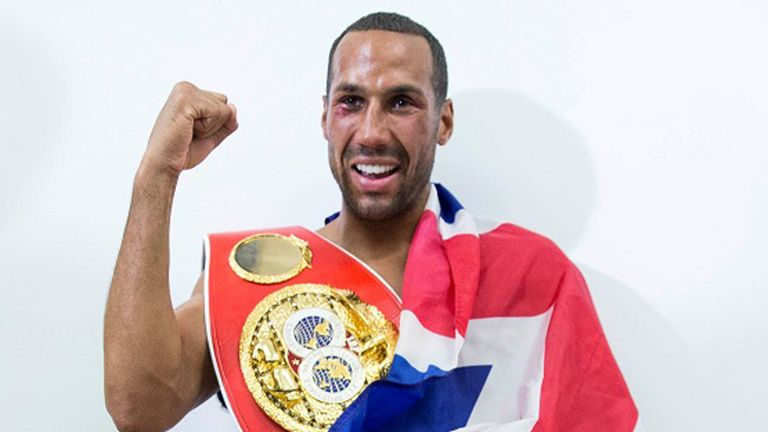 James DeGale (photo credit Mark Robinson) holds the IBF title