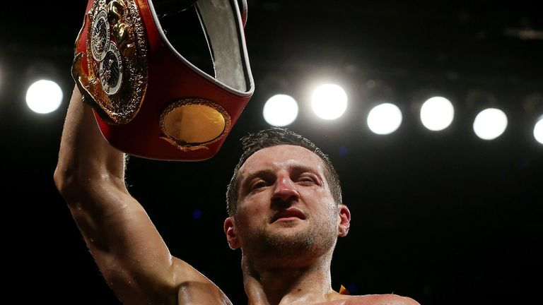 Carl Froch: Hailed by Ricky Hatton as one of Britain's best ever boxers