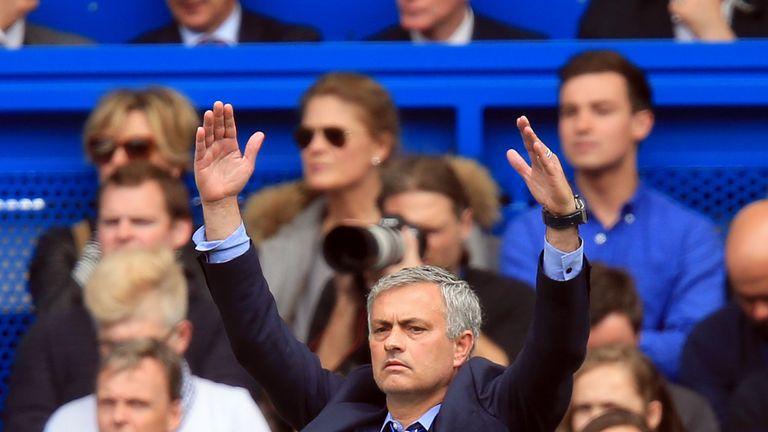 Jose Mourinho, Chelsea v Crystal Palace, Premier League