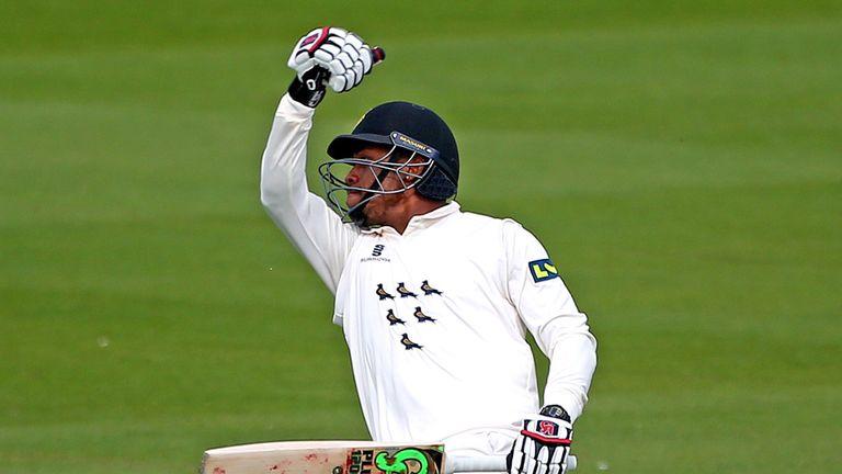 Chris Jordan enjoyed a fine return for Sussex, scoring a career-best 158 not out