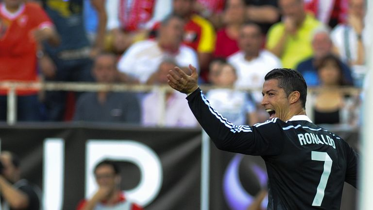 Cristiano Ronaldo: Is in fine form after scoring a hat-trick on Saturday