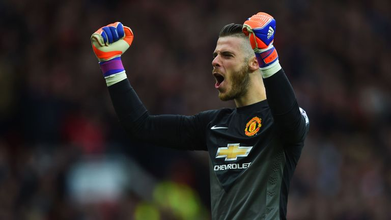 David De Gea, heavily linked with Real Madrid in recent days, enjoyed the goal