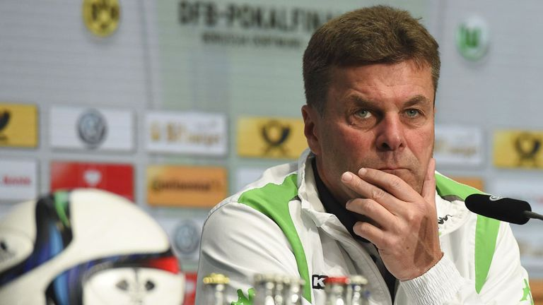Head coach of German Bundesliga football club VfL Wolfsburg, Dieter Hecking