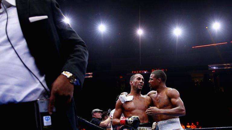 Andre Dirrell and James DeGale talk tog