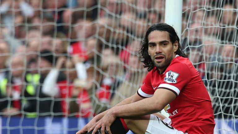 Radamel Falcao: The Columbian superstar has struggled for form with Manchester United.