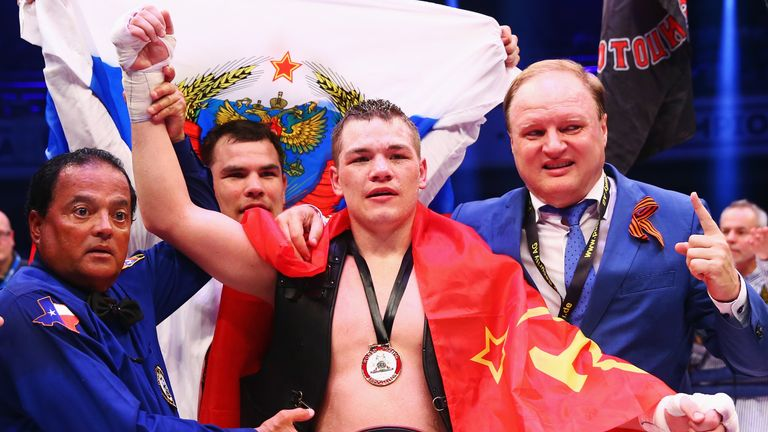 Fedor Chudinov will likely be Groves' opponent should he get a shot at the WBA 'Super' title