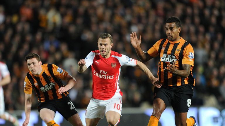 Jack Wilshere: Returned for Arsenal at Hull after more than five months out
