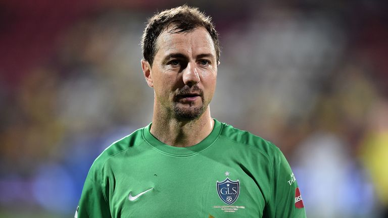 Jerzy Dudek at a Global Legends Series match in Thailand last year