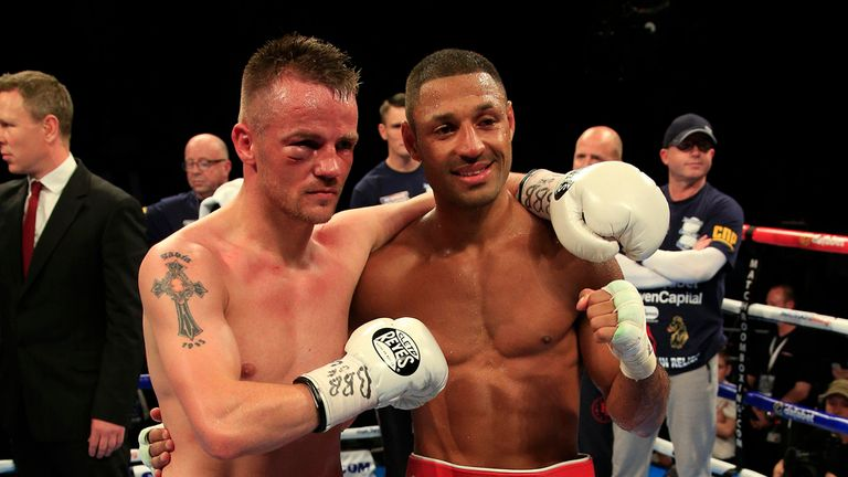 Frankie Gavin admitted the best man won after losing to Kell Brook