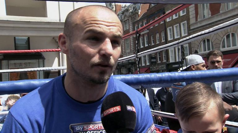 Kevin Mitchell is still determined to achieve his dream of becoming world champion
