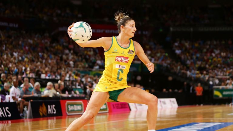 Australia's Kim Ravaillion is a must-watch player at the Netball World Cup