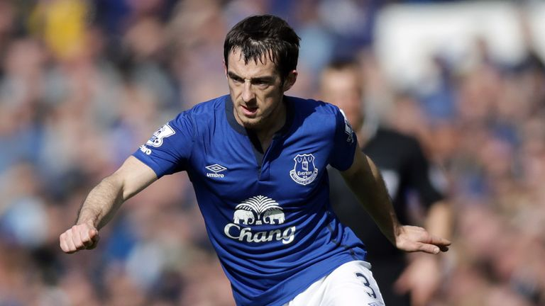 Leighton Baines is set to play in a friendly behind closed doors during the international break
