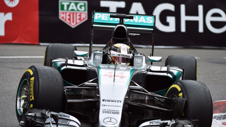 Lewis Hamilton finished third fastest in final practice