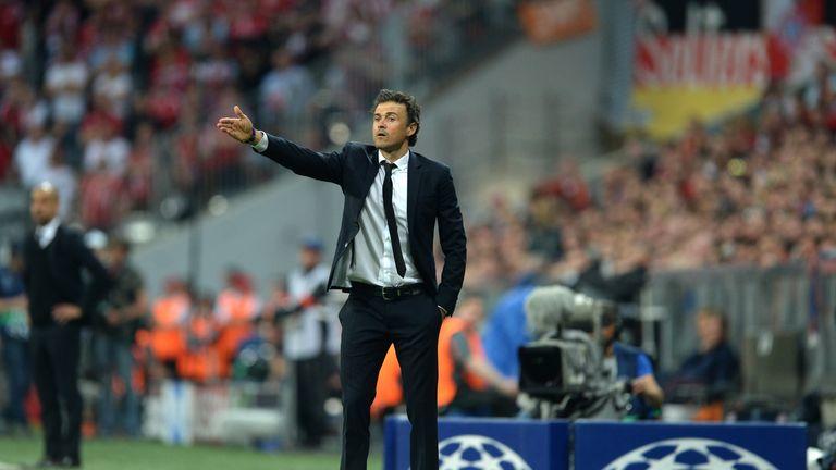 Luis Enrique, Bayern Munich v Barcelona, Champions League
