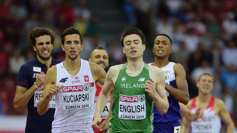 Mark English: Ready to surprise the 'best ever 800 runner'