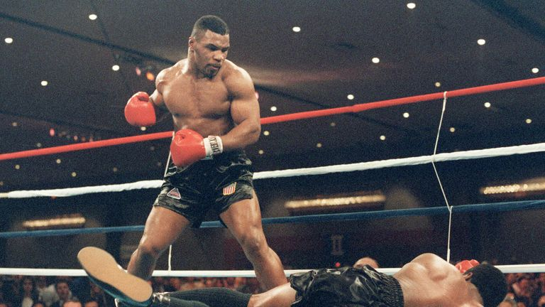 Mike Tyson was a fearsome knockout artist who remains the youngest ever undisputed heavyweight champion