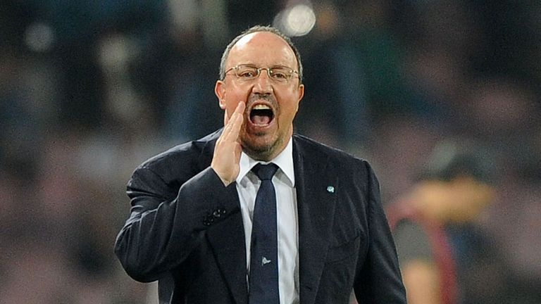 Rafael Benitez recently led Napoli to the semi-finals of the Europa League